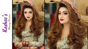 kashees glamorous hair styling makeup