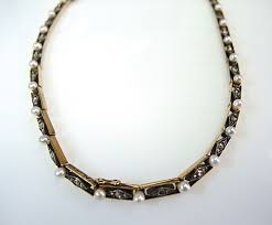 diamond and pearl necklace cfa1404347