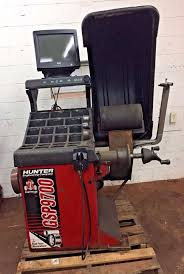 hunter balancer hunter gsp9712 wheel tire balancer machine 2