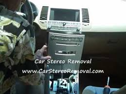 how to nissan maxima car radio bose stereo removal and repair 2004 Maxima Stereo Wiring Harness how to nissan maxima car radio bose stereo removal and repair replace youtube 2004 maxima bose wiring diagram
