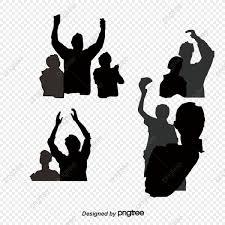 踊る人のシルエット素材 踊る人 踊るシルエット 踊るシルエット画像素材