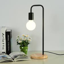 office table lights. Contemporary Table 2018 Modern Wooden Table Lamp White Black Office Desk Light Bedroom Bedside  Fashion Warm Study Small AL184 From Zhanhualighting  Throughout Office Table Lights