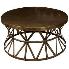 awesome metal coffee tables and end tables round metal coffee table base starrkingschool
