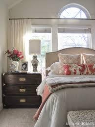 simple details one room challenge craigslist bedroom neutral with pop of color