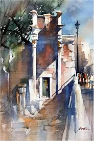 thomas schaller original watercolor giveaway painting artistsnetwork winschaller
