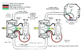 how to wire a 3 way switch ceiling fan with light diagram 3 way fan light