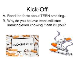 Facts about teens smoking