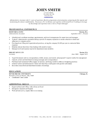 Examples Of Resumes 12 Good Samples Basic Resume Template Easy