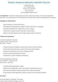 Radiologic Technologist Cover Letter Enchanting Sample Ultrasound