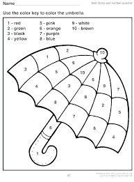 Coloring By Number Worksheets Uticureinfo