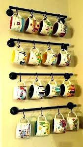 coffee mug holder wall coffee cup hanger coffee cup hanger coffee cup wall rack for