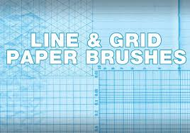 Lines Grids Paper Free Photoshop Brushes At Brusheezy