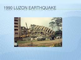 Image result for 1990 – The Luzon earthquake