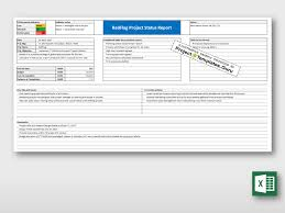 One Pager Project Template Executive Onepager Status Report