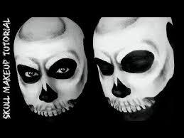 easy clic skull makeup tutorial