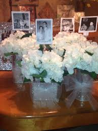 Wedding Anniversary Party Ideas 60th Anniversary Party Idea For Table Centerpiece Put A