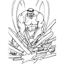 Hulk coloring page for kids. 25 Popular Hulk Coloring Pages For Toddler
