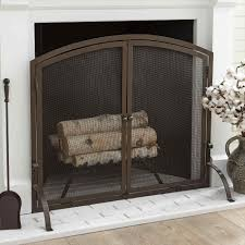 iron wrought iron fireplace screen design with metal scroll decorating decorative fireplace screens wrought iron fascinating