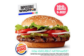 Burger King Protein Chart Burger Kings Nationwide Rollout Of The Impossible Whopper