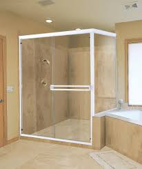 bathroom beige bathroom tiles wall design idea feat glass shower enclosure and marvelous corner jacuzzi