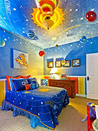 Outer Space Bedroom Kids Room Colorful Kids Room Accents Decor With Colorful Plaid