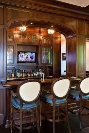 Stunning Home Bar Design via Home Bunch