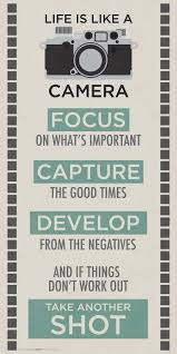 Life Quotes Posters Fascinating Amazon Life is a Camera Inspirational Motivational Photography