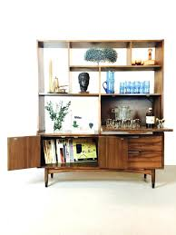 modern home office ideas. Surprising Sold Mid Century Modern Room Divider Shelving Unit Drop Down Bar Intended For Wall With Office Style Home Ideas