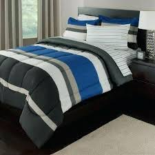 blue gray bedding boys twin rugby stripes bed bag comforter set sheet set blue gray white black stripes blue green gray comforter