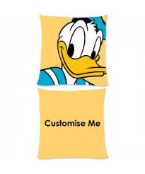 disney mickey mouse friends donald small fiber cushion