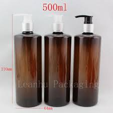 Decorative Bottles For Shampoo And Conditioner 100ml X 100 Lotion Pump Brown Plastic Shampoo Bottles Spray 64