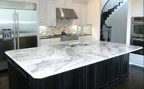 White Carrara Marble Countertops Glacier Granite Looks Like  Cabinets With39
