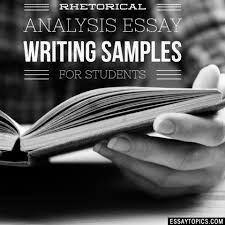 rhetorical analysis essay topics titles examples in english  100% papers on rhetorical analysis essay sample topics paragraph introduction help research more class 1 12 high school college