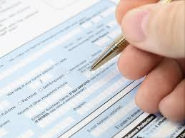 filling out applications filling out application form stock image image of economy income