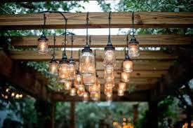 pergola lighting ideas outdoor chandeliers