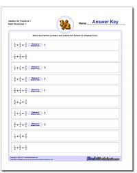 Fractions Of Numbers Worksheets Year Adding Digits Using Number ...