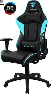 Профессиональное игровое <b>кресло ThunderX3 EC3</b> (Черный ...