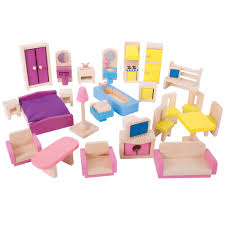dolls furniture set. Bigjigs Heritage Playsets Doll Furniture Set Dolls