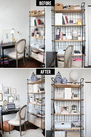 awesome home office decor tips. Attractive Office Organization For Your Home Ideas: Black Wire Shelves Awesome Decor Tips I