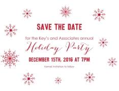 Christmas Party Save The Date Templates Shop Christmas Party Invitations By Cardsdirect
