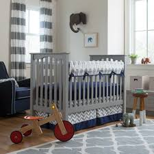 navy and gray elephants baby crib bedding grey elephant carousel boy sets designs ching their way