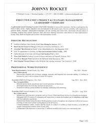 Executive Chef Resume Simple Executive Chef Resume