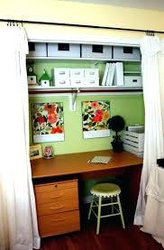 office in closet ideas. Closet Desk Ideas Walk In Office Interesting Small Contemporary .