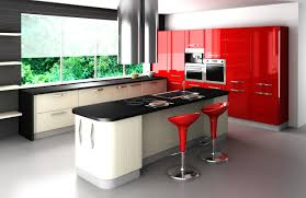 Red Gloss Kitchen Cabinets Kitchen Cabinets Door Replacement Fronts Replacement Acrylic High