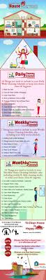 Weekly House Cleaning Chart House Cleaning Schedule To Make Your Cleaning Task Easy