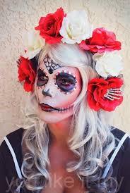 you like it my homemade makeup like sugar skull sugar skull