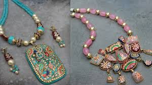 Funky Necklace Designs Beautiful Kundan Necklace Design Stylish Necklace For Saree Suit Lehenga Jewellery For Kitty Party