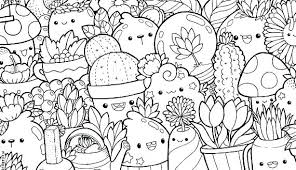 Coloring Pages Free Fresh Copy Drawing Cute Food Easy And Coloring