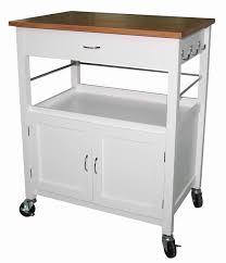 kitchen island cart. Guss Kitchen Island Cart With Natural Butcher Block Bamboo Top I