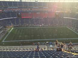 New England Patriots Seating Chart Gillette Stadium Section 311 New England Patriots